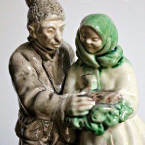 Керамическая скульптура» Кривая уточка»