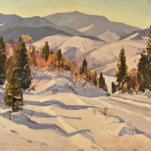 Сапатюк. Михаил «Зима в горах»