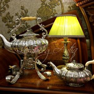 Старинный серебряный комплект 1837 г.