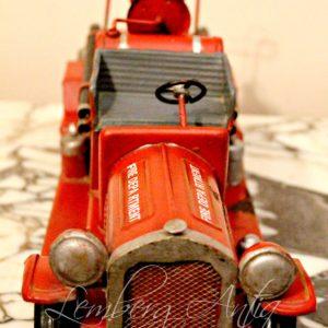Пожарная машина 40-50  годы 20-го века