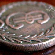 Медная монета 1779
