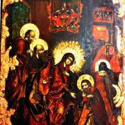 Икона «Явление Сергию Радонежскому Богородицы»