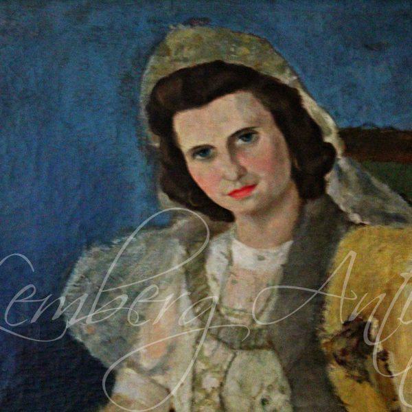 Старовинний портрет
