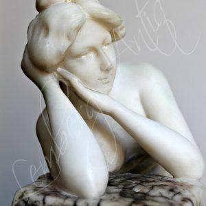 Львівський антикваріат  СкульптрорGuglielmo Bracony (1838 - 1921)