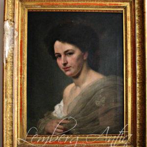 Portret kobiety.