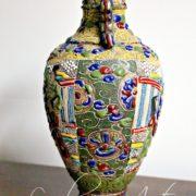 Старинная Японская ваза