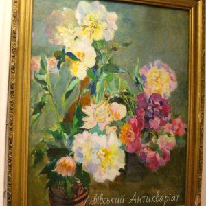 Вениамин Сипер натюрморт Цветы
