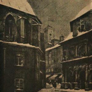 """Odo Dobrovolsky """"Plac Katedralny i Kaplica Boimów"""""""