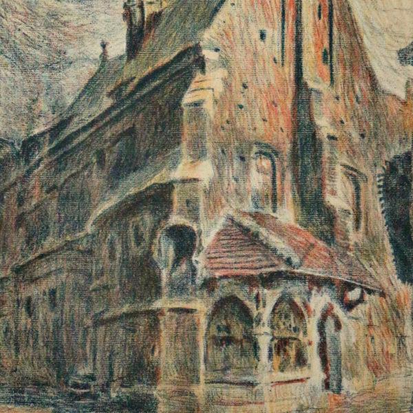 Церква св. Барбари, 1911