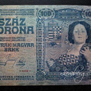 Австрия 100 крон 1910 год
