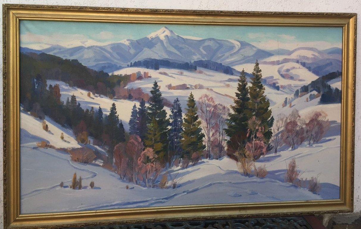 М.М. Сапатюк, «Зима», год неизвестен